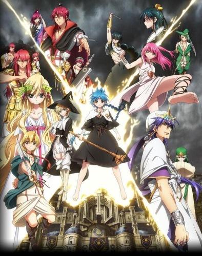 Magi The Kingdom of Magic 2